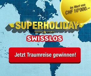 Swisslos Superholiday Wettbewerb Schweiz